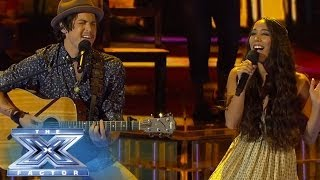 Alex & Sierra Cover Robin Thicke - THE X FACTOR USA 2013