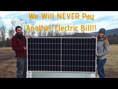 NEVER Pay For Electricity Again!! Off Grid Solar Power Part 1