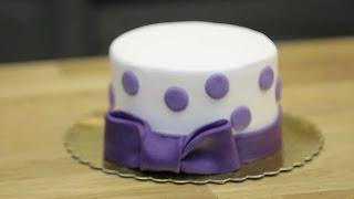 ŞEKER HAMURLU PASTA Nasıl Yapılır ? ( Butik Pasta Yapımı )