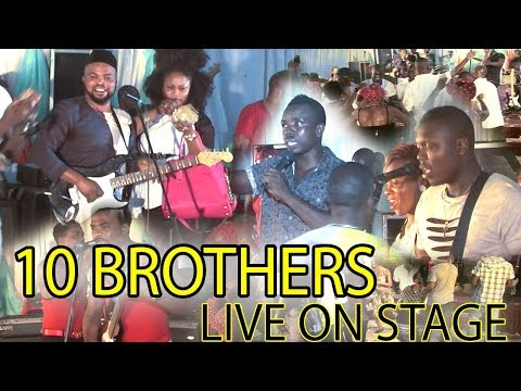BENIN MUSIC - STANLEY O IYONANWAN x MUNGO PARK x ISOKEN OHENHEN  10 BROTHERS ON STAGE