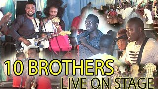 BENIN MUSIC - STANLEY O IYONANWAN x MUNGO PARK x ISOKEN OHENHEN |10 BROTHERS ON STAGE