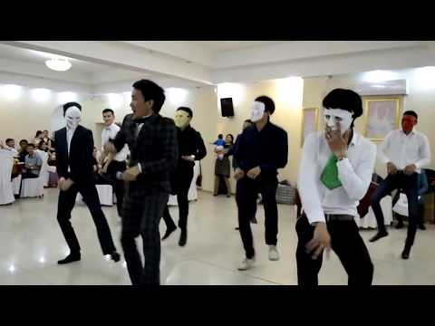Видео: Супер флешмоб в Казахстане.Свадьба 2015 ЕРЛАН КАБАТАЙ ТАМАДА
