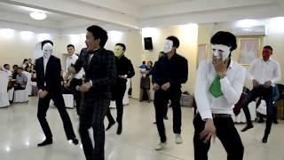 Супер флешмоб в Казахстане.Свадьба 2015 ЕРЛАН КАБАТАЙ ТАМАДА