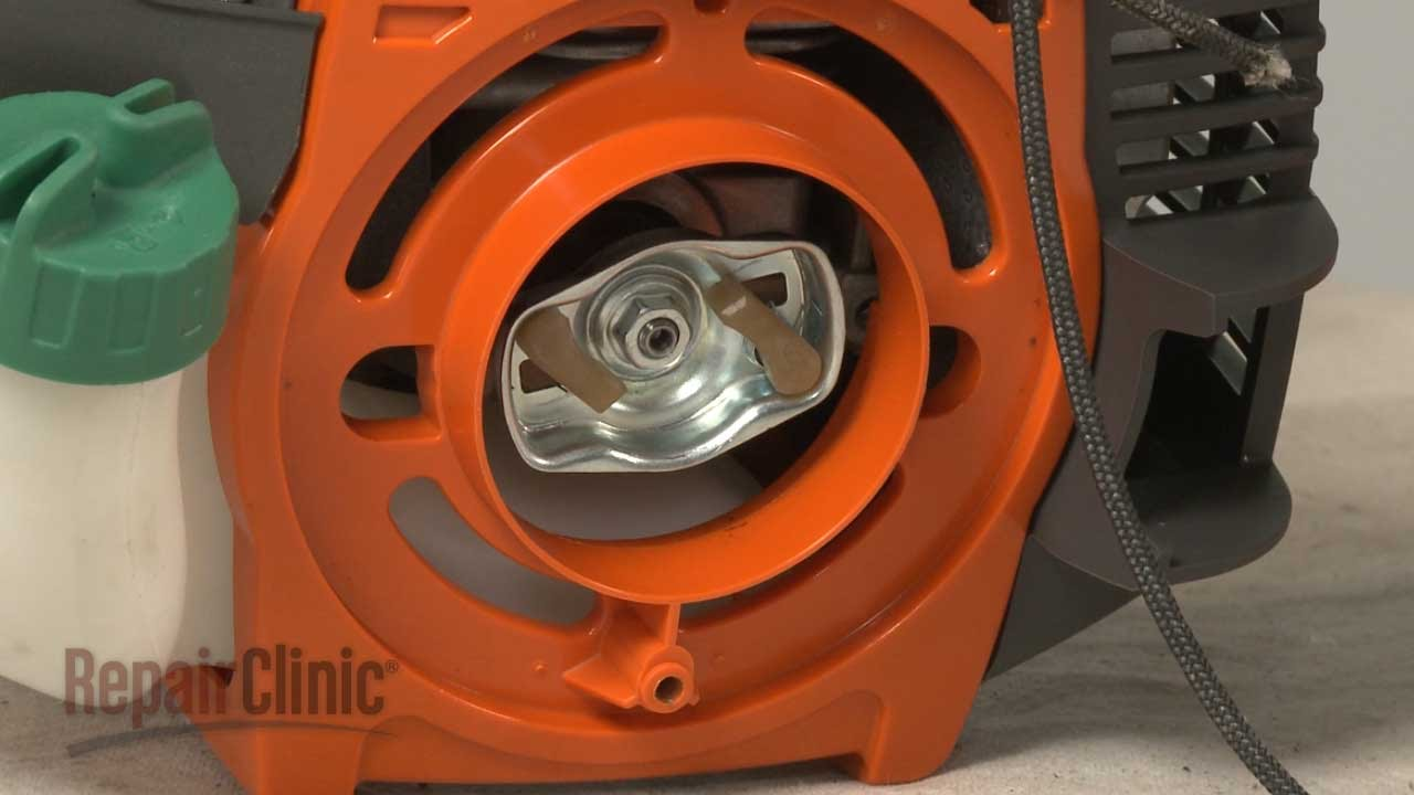 Weed Eater Repair >> Husqvarna String Trimmer Starter Pawl Replacement #503873305 - YouTube