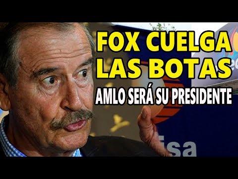 Vicente Fox acepta su derrota frente a Obrador - Televisa y TV Azteca vuelven a perder dinero