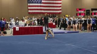 Sierra Brooks   - Floor Exercise - 2016 Women's Junior Olympic Championships