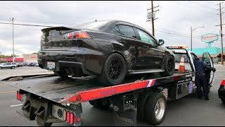 My 800HP Evo X Is Broken..