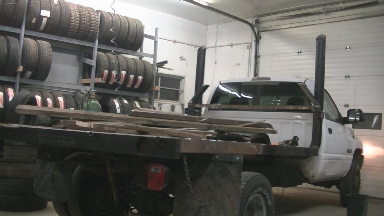 2001 Dodge Ram Cummins 5 Quot Stacks 02 13 12 Youtube