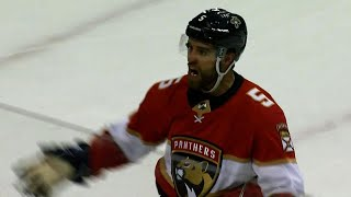 Ekblad shows up to fire home overtime winner against Golden Knights