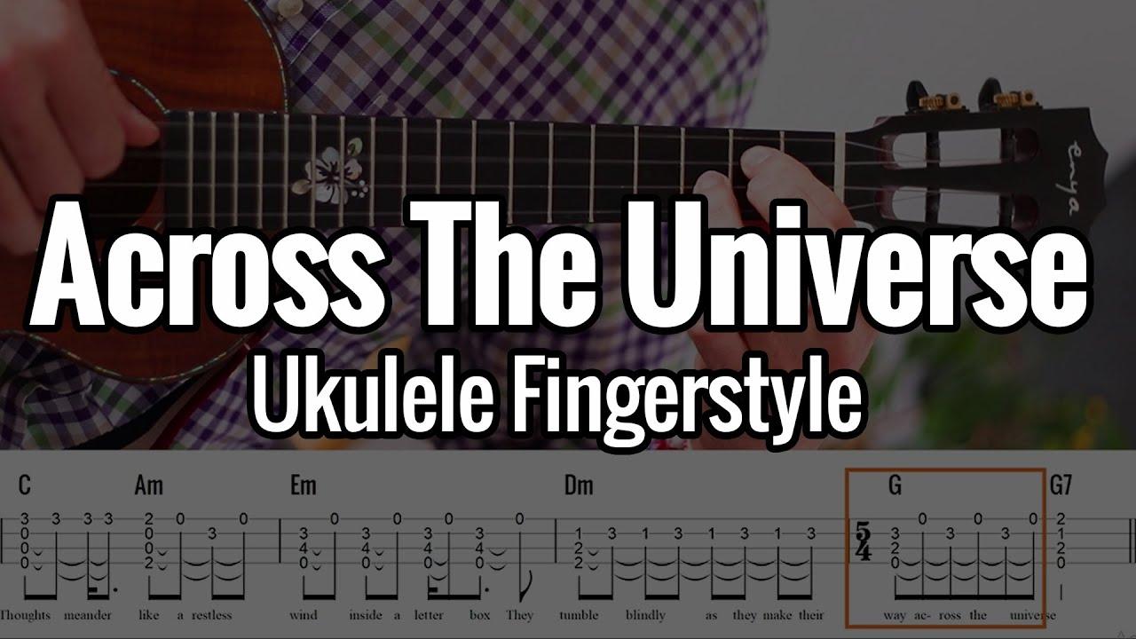 The Beatles   Across The Universe Ukulele Fingerstyle