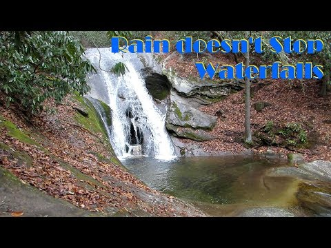 Stone Mt. State Park, NC - Waterfalls & Campgrounds
