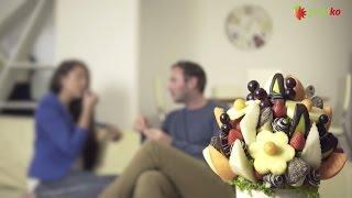 Ovocné kytice Frutiko - originální jedlé kytice jako dárek ke každé příležitosti. thumbnail