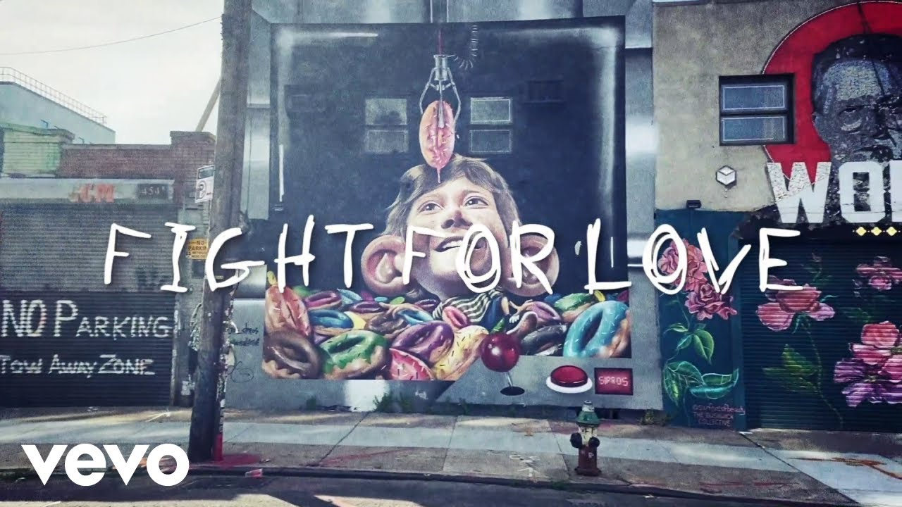 Blue October - Fight For Love (Official Lyric Video) ft. Blue Reed