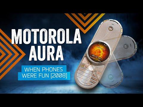 When Phones Were Fun: Motorola AURA (2008)