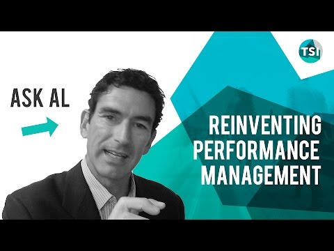 Ask Al:   Reinventing Performance Management