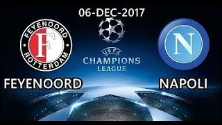 Feyenoord Vs. Napoli | Uefa Champions League | Official Match Highlights