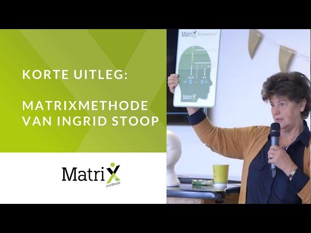 De MatriXmethode: de korte uitleg