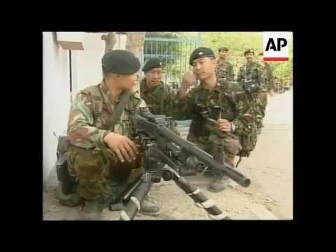 Pasukan TNI Kontak dengan Pasukan Gurkha Inggris di Timor Leste