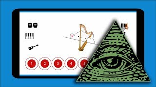 X Files Theme Song (Illuminati tune) — Bongo Cat Musical Instruments