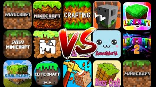 Minecraft PE VS All  Ts Copies Android