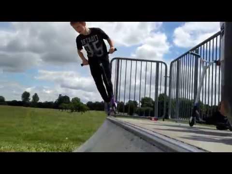 Clips at black shots skatepark EPIC FAIL spencer tallack