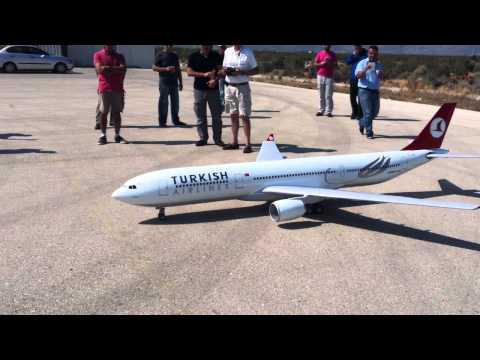 RC Airbus A330 take off