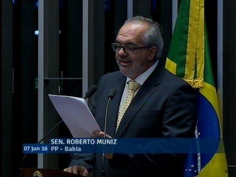 Roberto Muniz toma posse no Senado substituindo Walter Pinheiro