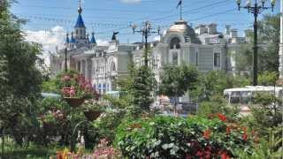 Лето в Хабаровске, Summer in Khabarovsk (HD)