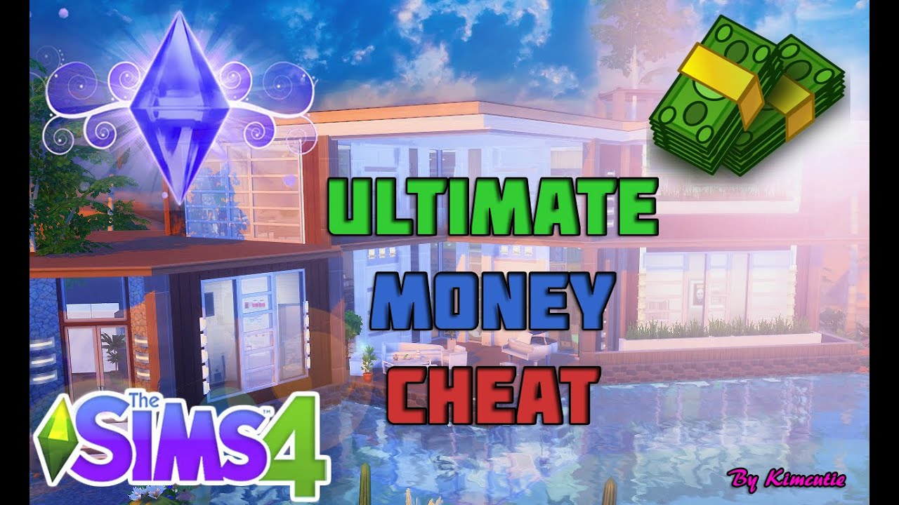 The Sims 4 - Unlimited Money + 9,999,999 Cheat - YouTube
