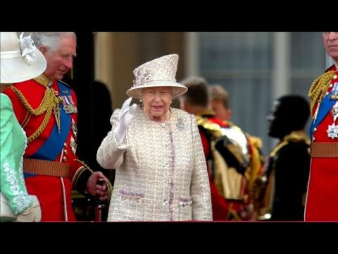 Londres : la famille royale réunie pour Trooping the Colour