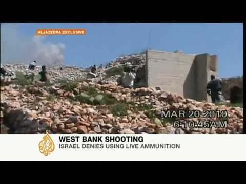 Live Israeli gunfire suspected in Palestinian deaths