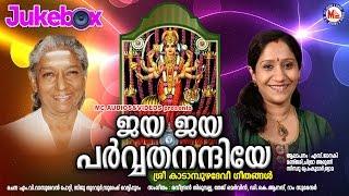ജയജയ പർവ്വതനന്ദിനിയേ | JayaJaya ParvathaNandhiniye | Hindu Devotional Songs Malayalam | Devi Songs