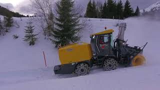 Mit 4350 PS gegen Schnee und Eis – 10 Schmidt Supra 4002 im Einsatz der Schweizer Armee