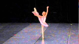 YAGP-Paris 2012. Lada (age 9) won second place, teachers - T. Petrova, V. Kuramshin