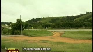 Guichê de rodoviária é assaltado em Santana da Vargem