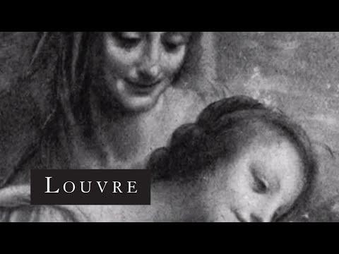 La Saint Anne de Léonard de Vinci  Musée du Louvre