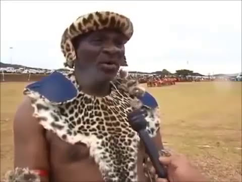Swazi Virgins Dance for Their Village Chief   African Natural Tribes