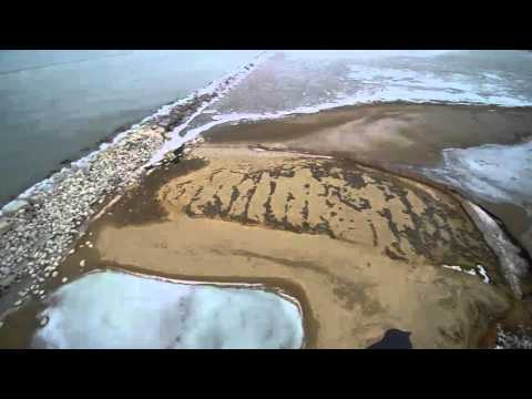 RACINE WI DRONE LIGHT HOUSE NORTH POINT