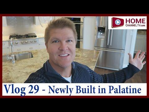 Home Tour Vlog 29 - Touring the David Weekley Billingsgate Plan in Palatine IL