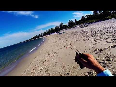 Revolution NYM - 3 Vent kite flying Brighton Beach, Sydney (Single hand flying) with Frankie