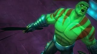 Marvel: Contest of Champions - Drax - Guardian of the Galaxy - Super Attack Moves [iPad/Android]