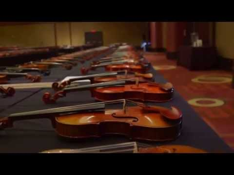 Violin Society of America (VSA) 2014 Convention and Violin M