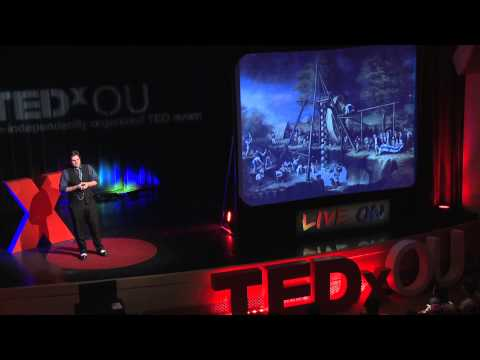The History of American Paleontology in 3 Minutes: James Burnes at TEDxOU