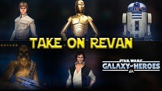 CLS C3P0 CHEWIE!! Rebels Take on Revan & Traya - Star Wars: Galaxy Of Heroes