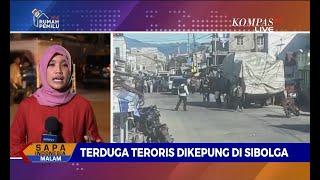 Terduga Teroris Dikepung di Sibolga, Suara Ledakan Terdengar