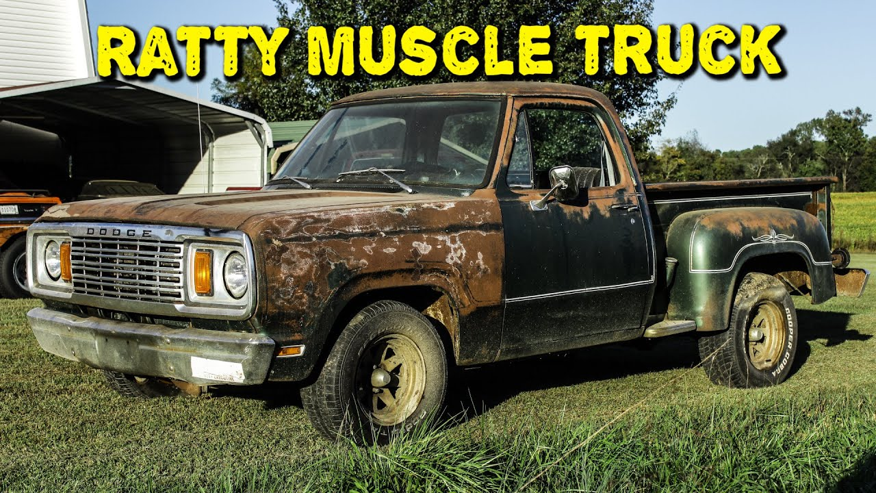 ABANDONED TRUCK Update! Ratty Muscle Truck