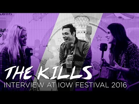 The Kills talk new album, Iggy Pop and swans eating flip flops