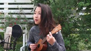 Aimer - カタオモイ (Kataomoi) | ukulele cover in the garden