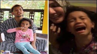 Lawak bila Dato Aliff Syukri kacau anaknya Qadejah sampai menangis cakap pasal kahwin