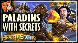 PALADINS HAVE SECRETS NOW! - Saviors of Uldum Hearthstone